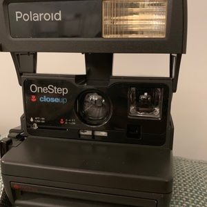 Polaroid one step closeup-$55 shopping included
